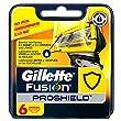 Gillette Fusion ProShield Lames de Rasoir Pour Homme 6 Recharges