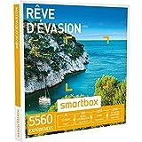 SMARTBOX - Coffret Cadeau - RÊVE D'ÉVASION - 5560 expériences : séjour, séance bien-être, gastronomie ou aventure