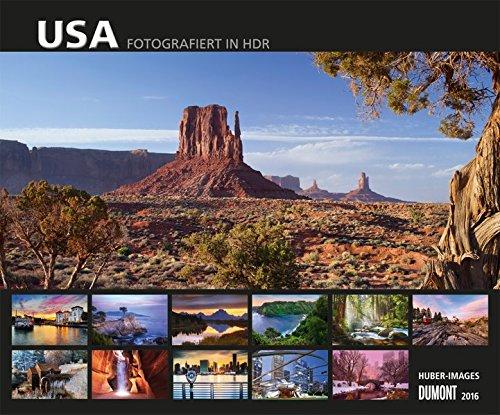 USA - Fotografiert in HDR 2016 (Florida-schreibtisch-kalender)