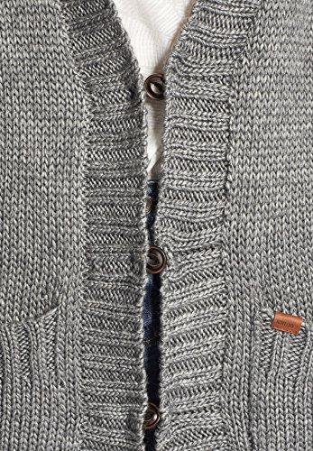 khujo -  Cardigan  - Basic - Maniche lunghe  - Donna Marne grigia chiara