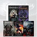 Dragon Age Series 5 Books Collection Set By David Gaider, (Dragon Age Asunder, Dragon Age The Calling, Dragon Age Last Flight, Dragon Age The Stolen Throne and Dragon Age The Masked Empire)