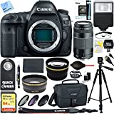 Canon EOS 5D Mark IV 30,4 MP Full Frame CMOS DSLR Kamera (Body) & 75–300 mm Objektiv Ultimate Bundle