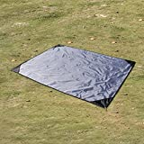 EKKONG Picknick-decke, 100% wasserfeste Picknickdecke - Portable Premium Pocket Blanket - ideal für Reisen, Camping und Festivals
