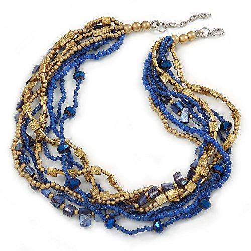 multistrand-blu-perle-di-vetro-viola-blu-shell-con-pietre-collana-di-perline-acrilico-oro-47-cm-l-4-