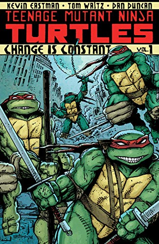 Teenage Mutant Ninja Turtles Vol. 1: Change is Constant (English Edition)