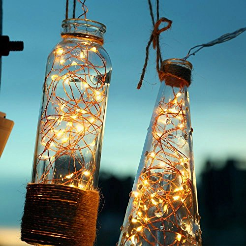 100 LED Outdoor Fairy Lights, 6M