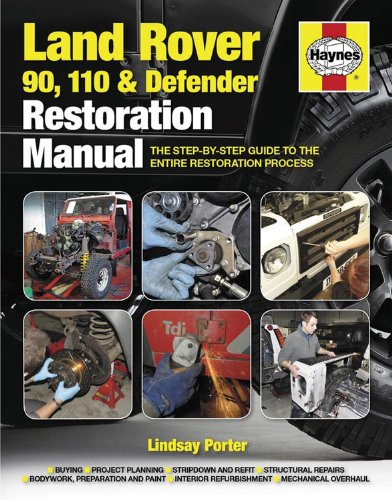 Preisvergleich Produktbild Land Rover 90,  110 And Defender Restoration Manual: Step-by-step guidance for owners and restorers (Haynes Restoration Manuals)