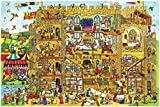 Bigjigs Toys Castle Floor Puzzle (96 Piece)