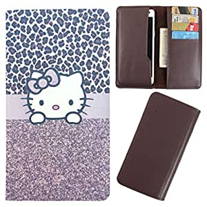 DooDa - For Blackberry Curve 9220 PU Leather Designer Fashionable Fancy Case Cover Pouch With Card & Cash Slots & Smooth Inner Velvet
