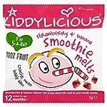 Kiddylicious Strawberry and Banana Sm...
