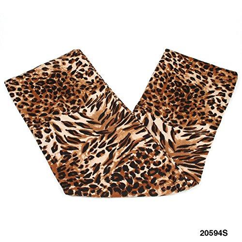 Weicher Loop/Schlauch-Schal mit modernem Leopardenmuster