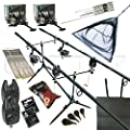 Carp Fishing Set & Bivvy/Shelter, Rods, Reels, Pod, Alarms, Carp Tackle by Redwoodtackle