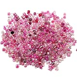 #4: Beadsnfashion Seed Beads Pink Assorted (100 Gm), Size 11/0