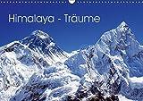 Himalaya - Träume (Wandkalender 2019 DIN A3 quer): Die höchsten Gipfel der Erde erleben Sie auf beeindruckende Art und Weise im wunderschönen Nepal. (Monatskalender, 14 Seiten ) (CALVENDO Natur)