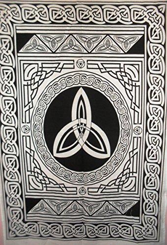 Diseño de Jaipur arte celta tradicional Tapestry, india Póster, Bohemia colgante de...