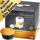 Testbox - 64 Dolce Gusto kompatible Kapseln - Alle Sorten (4er-Pack mit Kaffeekapseln und Milchkapseln)