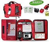 Diabetikertasche Mabox rot