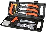 Outdoor Edge Wild-Pak Set aus 8Fleischerkoffern Unisex Erwachsene, Orange/Grau