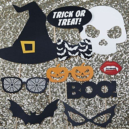 Ginger Ray Photo Booth Accessoires Halloween Trick or Treat
