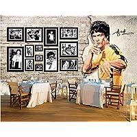 Malilove Foto 3D Personalizado Murales De Papel Tapiz De Fondo De Artes Marciales Bruce Lee Decoración Mural Imagen Wallpapers Para Paredes Salón