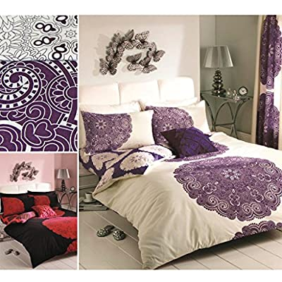 Just Contempo Baroque Duvet Cover Set - inexpensive UK light shop.