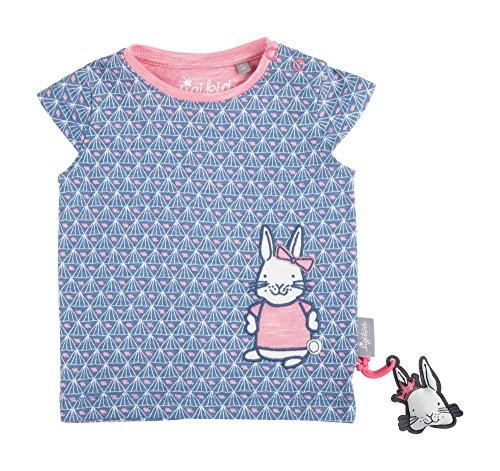 Sigikid Mädchen T-Shirt Baby, Blau (Infinity 554) 74
