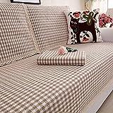 QINQIN Solid Color Einfache Sofabezug,Modernen europäischen Stil milbenstopp Weich und Bequem Sofa-Überwürfe 1 stück Ohne verformung Couch Abdeckung -F 110x160cm(43x63inch)