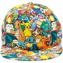 Nintendo Pokemon All Over Print Sublimated Snapback Gorra De Béisbol