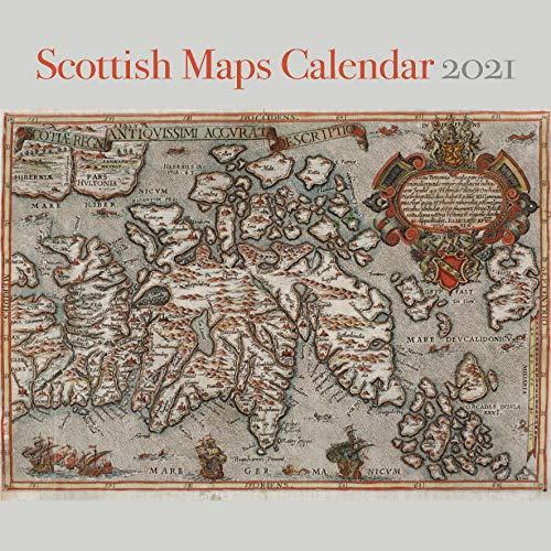 Scottish Maps Calendar 2021 (Calendars 2021)