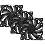 upHere 120mm Silent Fan for Computer Cases, CPU Coolers, and Radiators Ultra Quiet High Airflow Computer Case Fan, 3…