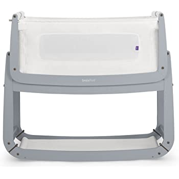 SnuzPod 3 Bedside Crib - Dove Grey