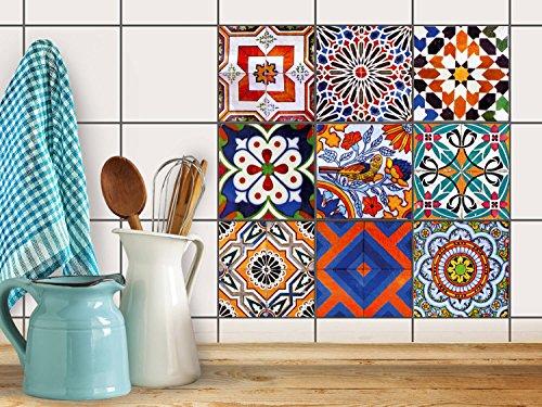 Piastrelle per pavimento cucina | Piastrelle adesive decorazione ...