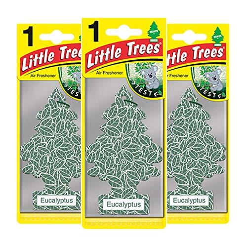 Little Trees LTZ078 - Ambientador eucalipto 3 Unidades