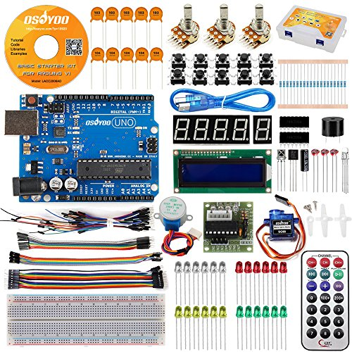 OSOYOO UNO R3 Project Starter Pack For Arduino kit with
