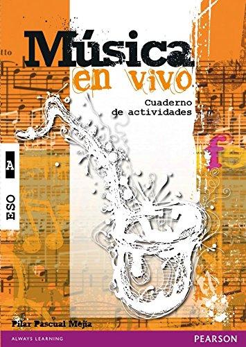 Música en vivo A cuaderno de actividades - 9788420562186 por Pilar Pascual Mejía