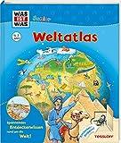 WAS IST WAS Junior Weltatlas für Kinder: Welche Kontinente gibt es? Wo liegt Afrika? Wo liegt der höchste Berg der Welt? (WAS IST WAS Junior Edition) - Heike Herrmann