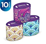 Kleenex Collection Oval Tissues - 10 Box Pack (560 Tissues Total)