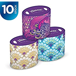 Kleenex Papiertuch Fashionbox Oval