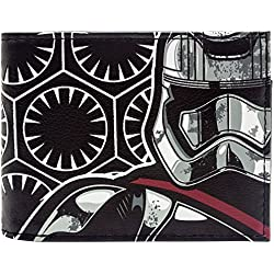 Disney Star Wars Storm Trooper Black ID & Card Bi-Fold Wallet