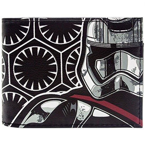 Star Wars Storm Trooper Schwarz Portemonnaie Geldbörse (Storm Trooper Kostüme Für Kinder)