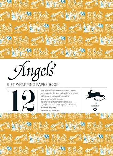 ANGELS : gift and creative paper book Vol.18 (Gift Wrapping Paper Book) por Pepin van Roojen