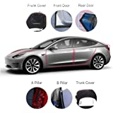 EqWong 1.6M Black Car Door Rubber Seal Windshield Strip For Car Dashboard Windshield Edges Dust Proof Anti Noise Sealing Strips Trim For Car Windshield Edges Soundproof seal