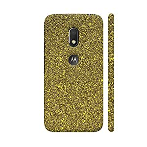 Colorpur Golden Luxury Shiny Style Designer Mobile Phone Case Back Cover For Motorola Moto G4 Play with hole for logo | Artist: WonderfulDreamPicture