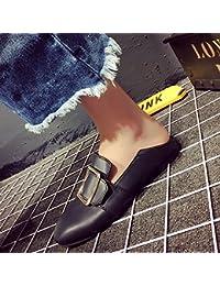 GAOLIM Les Petites Filles Chaussures Chaussures Plates Polyvalent Et Femmes D'Influence Des Coups De Tête Parti Lazy Bones Chaussures