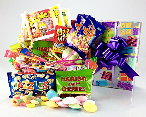 happy-birthday-to-you-retro-sweet-hamper-large-varietycola-bottles-flying-saucers-dolly-mixtures-whi