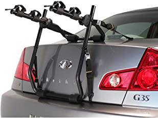 Hollywood Racks Express 2 Trunk Two Bike Rack / Bicycle Carrier for Car SUV