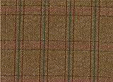 Country Tweed | 100% Reine Wolle | Stoff Meterware |Brown