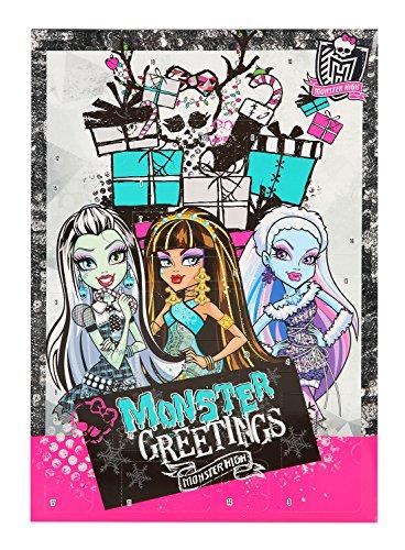 Undercover MHCP8020 - Adventskalender Monster High, mit 24 Schreibwaren - (Monster Mädchen)