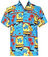 Summer Day Relaxed Fit Cruise Tropical Sports Dress Shirts 1688 Matching 2 M Gift Spring Summer 2017