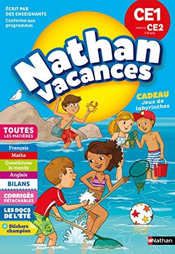 Cahier de Vacances 2018 du CE1 vers le CE2 - Nathan Vacances - 7/8 ANS par M Rocher